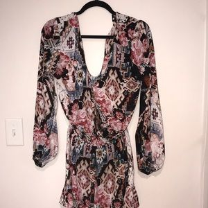Long sleeve show me your mumu romper